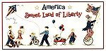 Uncle Sam's Parade by Sue Hillis Designs -- click to see a larger view