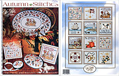 Autumn Stitches from Sue Hillis Designs -- click to see more