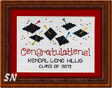 Post Stitches Small Congratulations from Sue Hillis -- click to see more