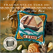 Fragments 2021 Tales from the Sea No 2 from Summer House Stitch Workes - click for more