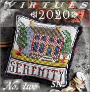 Fragments in Time 2020 #2 Serenity from Summer House Stitch Workes - click for more