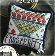 Fragments in Time 2020 #5 Prosperity from Summer House Stitch Workes - click for more