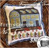 Fragments in Time 2019 #5 Meetinghouse from Summer House Stitch Workes - click for more