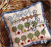 Fragments in Time 2019 #1 Orchard from Summer House Stitch Workes - click for more