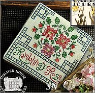 RamblingRose Ladies Garden Journal from Summer House Stitch Workes - click for more