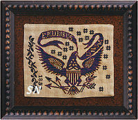 E. Pluribus Unum from Summer House Stitche Workes - click to see more