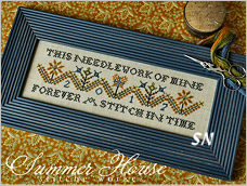 Forever in Stitches from Summer House Stitch Workes - click for more
