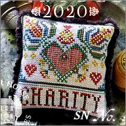 Fragments in Time 2020 #7 Charity from Summer House Stitch Workes - click for more