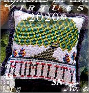 Fragments in Time 2020 #8 Humility from Summer House Stitch Workes - click for more