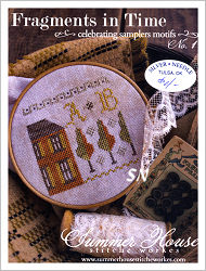Fragments in Time #1 from Summer House Stitche Workes - click to see more