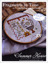 Fragments in Time #2 from Summer House Stitche Workes - click to see more
