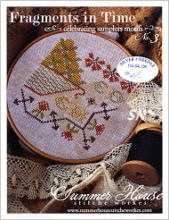 Fragments in Time #3 from Summer House Stitche Workes - click to see more