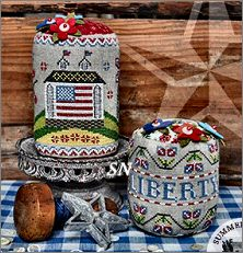 Liberty Hill Farm from Summer House Stitch Workes - click for more