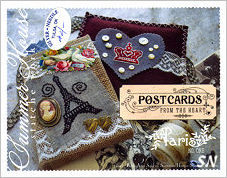Postcards From The Heart #1 Paris from Summer House Stitche Workes - click to see more