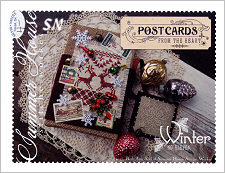 Postcards From The Heart #11 Winter from Summer House Stitche Workes - click to see more