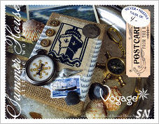 Postcards From The Heart #2 Voyage from Summer House Stitche Workes - click to see more