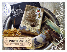 Postcards From The Heart #3 Lark from Summer House Stitche Workes - click to see more