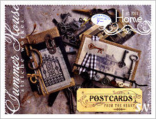 Postcards From The Heart #4 Home from Summer House Stitche Workes - click to see more