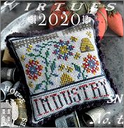 Fragments in Time 2020 #3 Industry from Summer House Stitch Workes - click for more