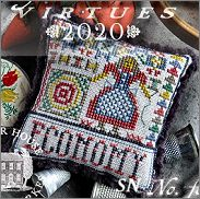 Fragments in Time 2020 #4 Economy from Summer House Stitch Workes - click for more