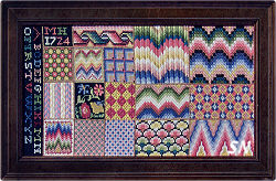 1724 MH Sampler by Threads of Gold -- Click to see more