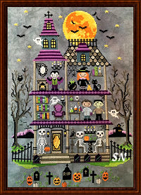 The Haunted Mansion Complete from Tiny Modernist - click to see more