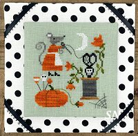 Mouse's Halloween Stitching from Tiny Modernist - click to see more