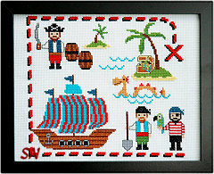 Cute Pirates from Tiny Modernist - click to see more