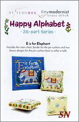 Happy Alphabet E from Tiny Modernist - click to see more