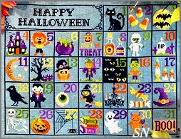 Halloween Calendar from Tiny Modernist - click to see more