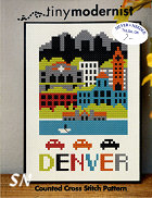 Denver from Tiny Modernist - click to see more