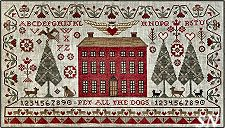XS4002 Pet All The Dogs Sampler from Teresa Kogut -- click to see more