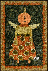 Harvest Dress in punchneedle from Teresa Kogut -- click to see more