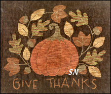 Give Thanks in Cross Stitch from Teresa Kogut -- click to see more