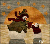 The Greatest Gift in Cross Stitch from Teresa Kogut -- click to see more