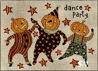 XS175 Dance Party in cross stitch from Teresa Kogut -- click to see more