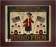 Stand Firm in cross stitch from Teresa Kogut -- click to see more