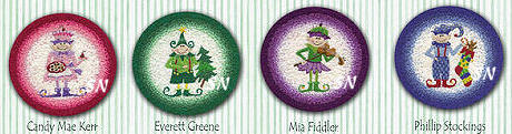 The 2009 Elves from Teresa Layman -- click to see more