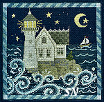 Teresa Layman Leave a Light On CROSS STITCH -- click to see a larger view!