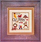 Christmas Spots -- click for a larger view including the charm