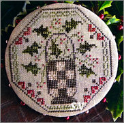 Quaker Holly from Threadwork Primitives - click to see more