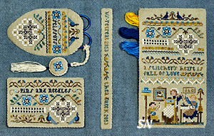 A Stitcher's Heart from The Victoria Sampler - click for more