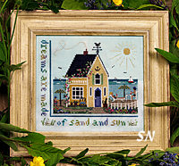 Beach Cottage from The Victoria Sampler - click for more
