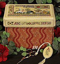 Sturbridge Box -- Beautiful Finishing #10 from The Victoria Sampler - click for more