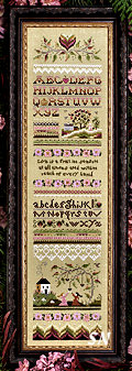 Victorian Band Sampler from The Victoria Sampler - click for more