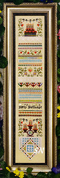 Celebrate Sampler from The Victoria Sampler - click for more