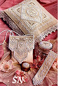 Heirloom Wedding Treasures from The Victoria Sampler -- click for more