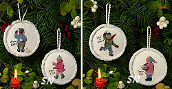 Snowbabies #1 and #2 from The Victoria Sampler - click for more