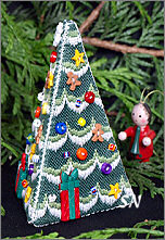 Village Christmas Tree from The Victoria Sampler - click for more