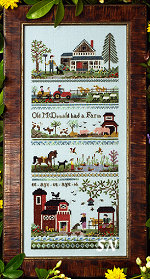 Old McDonalds Farm from The Victoria Sampler - click for more